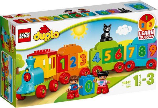 LEGO® Konstruktionsspielsteine »Zahlenzug (10847), LEGO® DUPLO®«, (23 St)