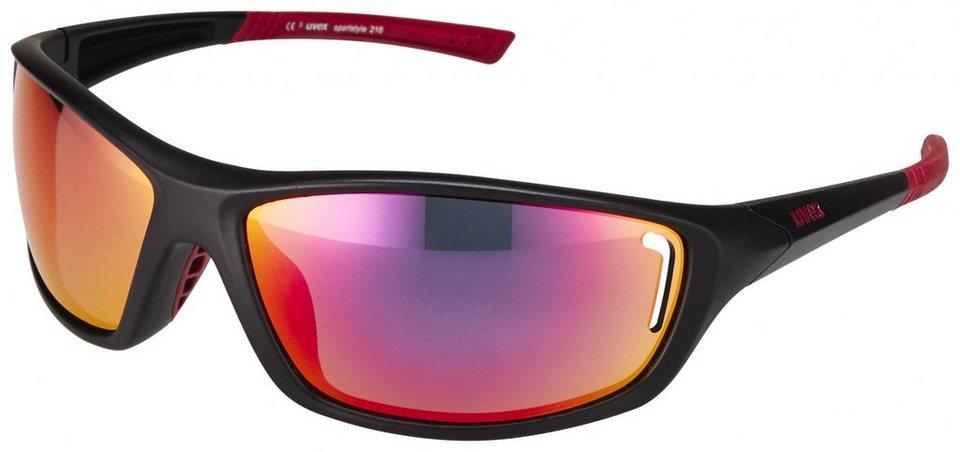 Uvex Radsportbrille »sportstyle 210 Glasses« in schwarz