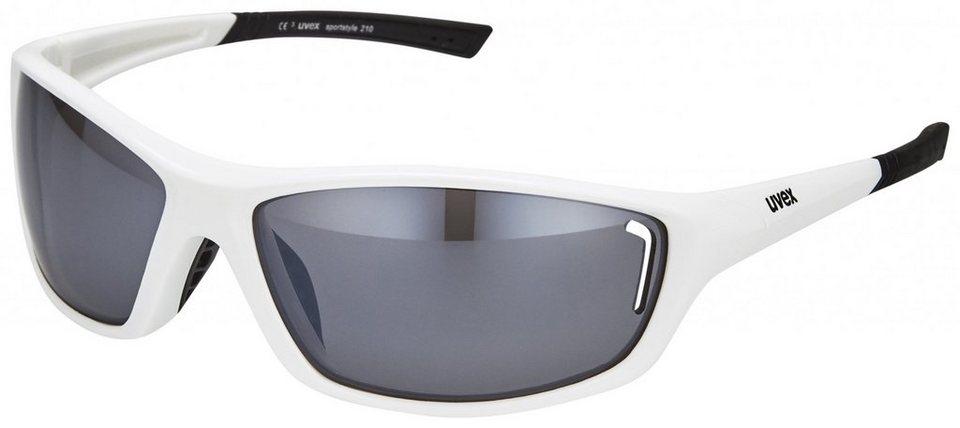 UVEX Radsportbrille »sportstyle 210 Glasses« in weiß