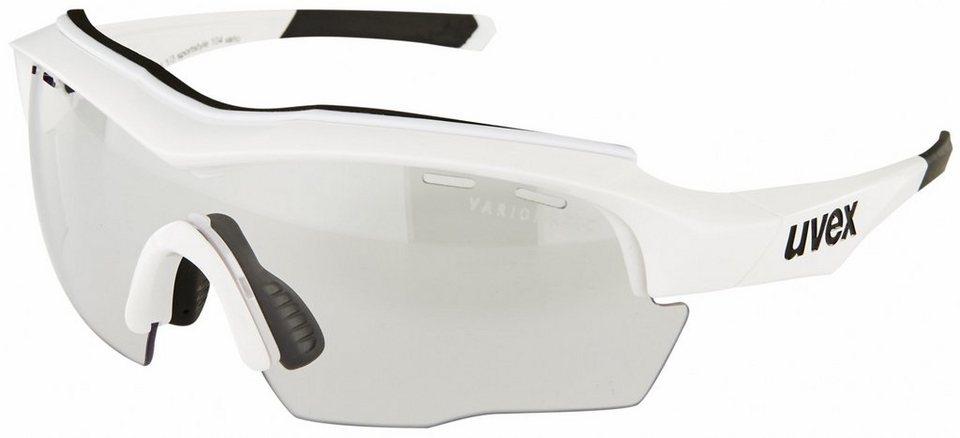 UVEX Radsportbrille »sportstyle 104 v Glasses« in weiß