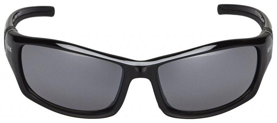 UVEX Radsportbrille »sportstyle 211 Glasses« in schwarz