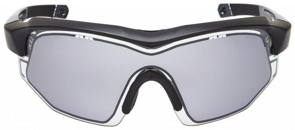 UVEX Radsportbrille »variotronic s Glasses« in schwarz