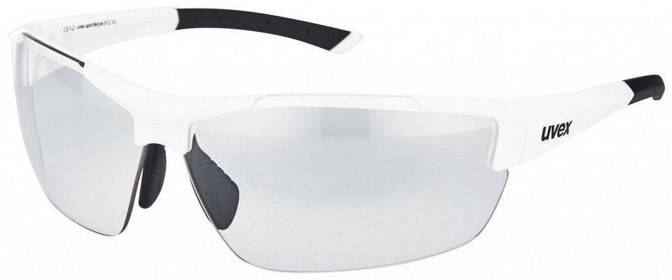 UVEX Radsportbrille »sportstyle 612 VL Brille« in weiß