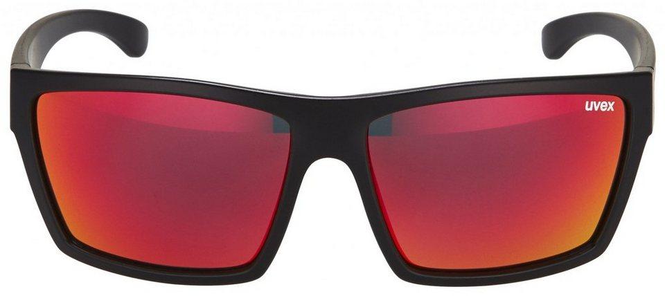 UVEX Radsportbrille »lgl 29 Glasses« in schwarz