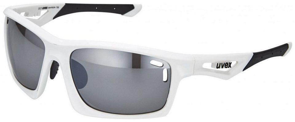 Uvex Radsportbrille »sportstyle 700 Glasses« in weiß