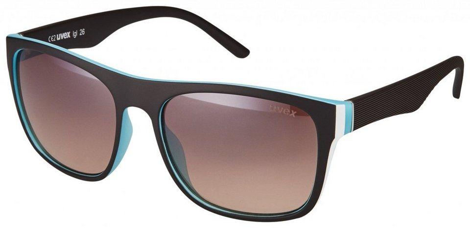 Uvex Radsportbrille »lgl 26 Glasses« in schwarz