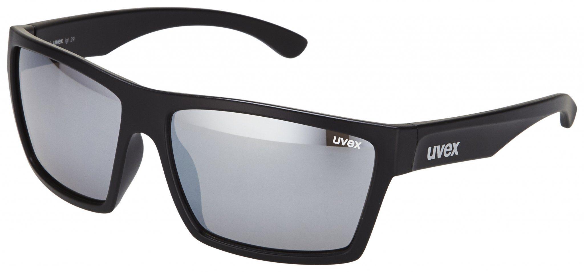 Uvex Sportbrille »LGL 32 Lifestyle Glasses«, schwarz, schwarz