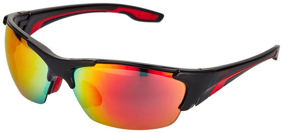 Uvex Radsportbrille »blaze lll Glasses« in schwarz