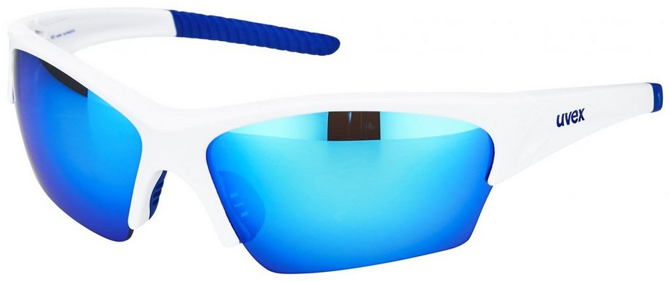 Uvex Radsportbrille »sunsation Glasses« in weiß
