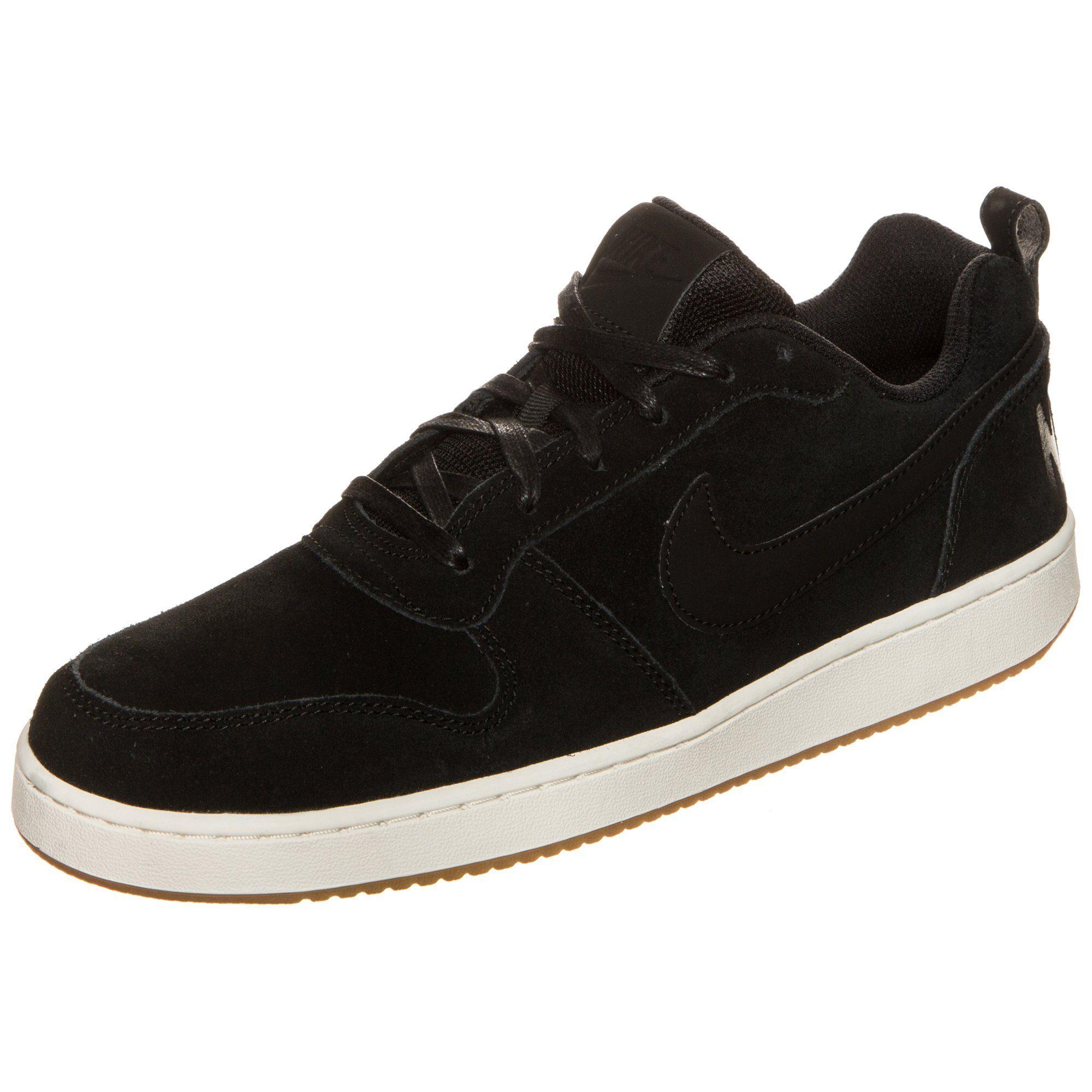 Nike Sportswear Court Borough Low Premium Sneaker Herren online kaufen  schwarz