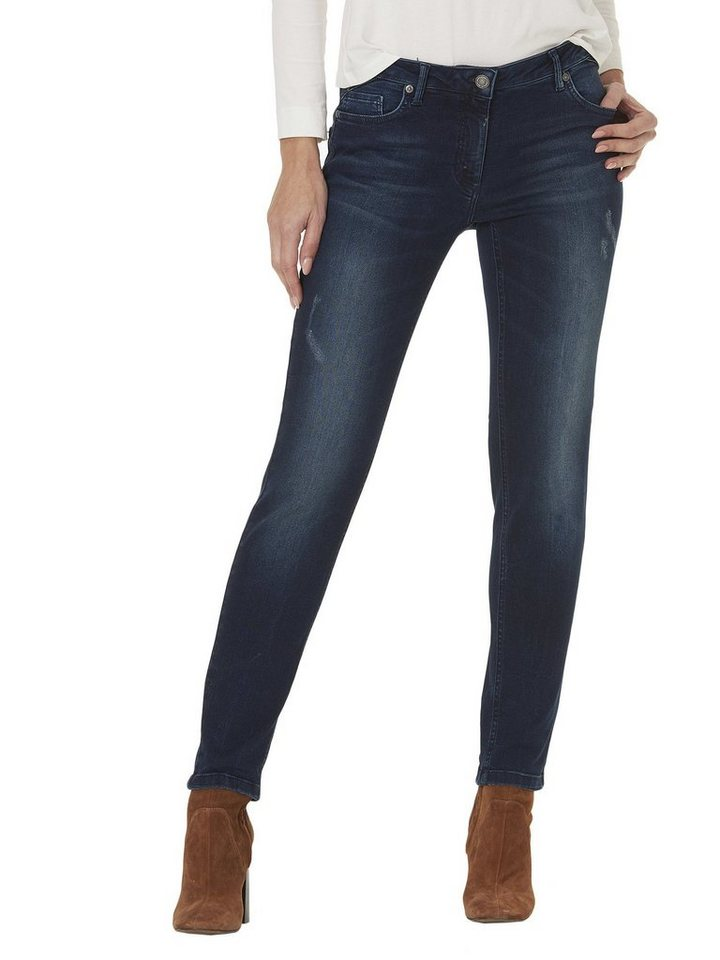 Betty Barclay Jeans in Dark Blue Denim - Bu