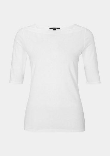 COMMA Leichtes Jerseyshirt mit kurzen Ärmeln