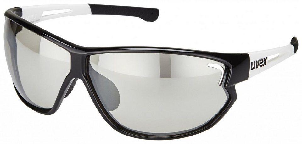 UVEX Radsportbrille »sportstyle 810 vm Glasses« in schwarz