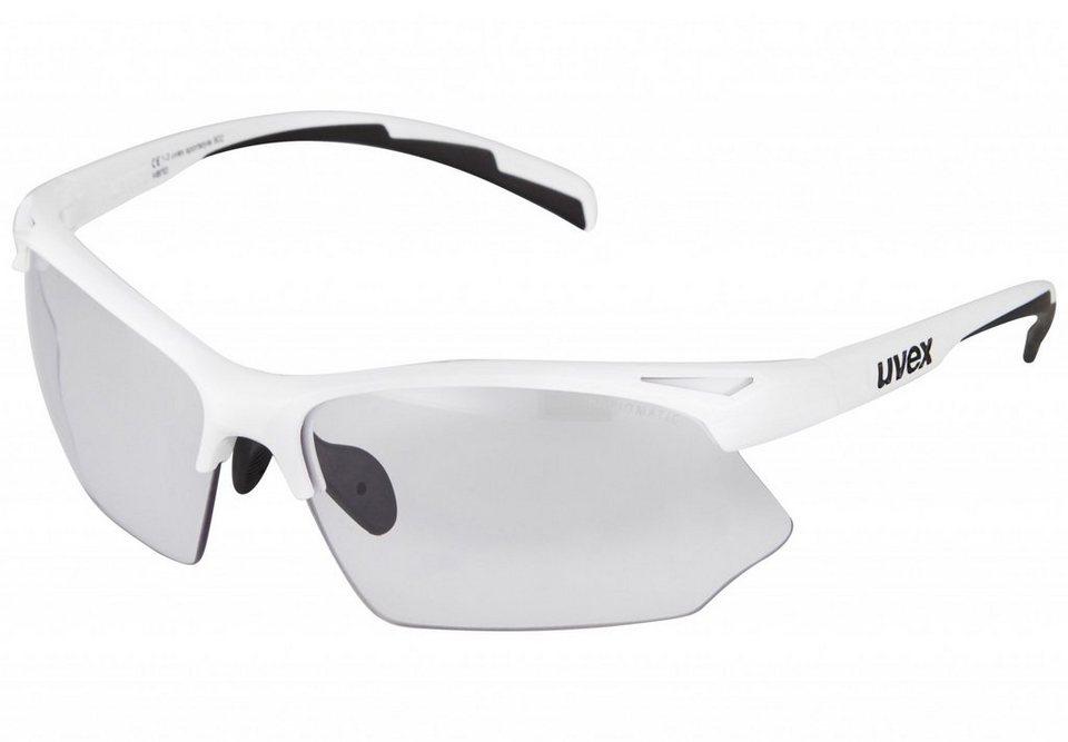 Uvex Radsportbrille »sportstyle 802 v Glasses« in weiß