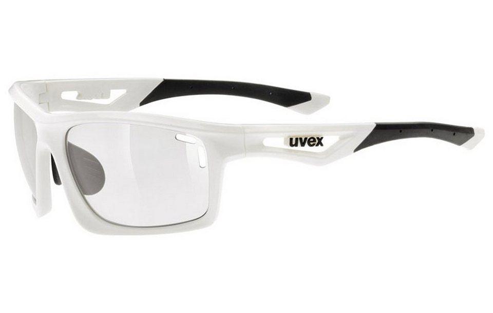 UVEX Radsportbrille »sportstyle 700 v Glasses« in weiß