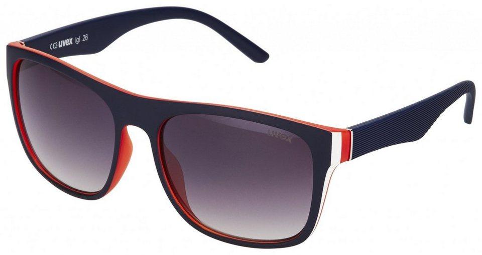 Uvex Radsportbrille »lgl 26 Glasses« in blau