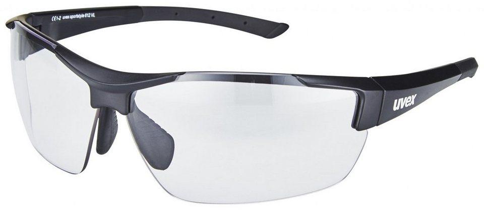 UVEX Radsportbrille »sportstyle 612 VL Brille« in schwarz