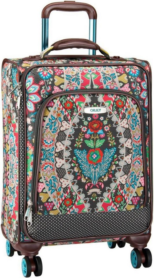 Oilily Travel S Trolley Spinner in Charcoal
