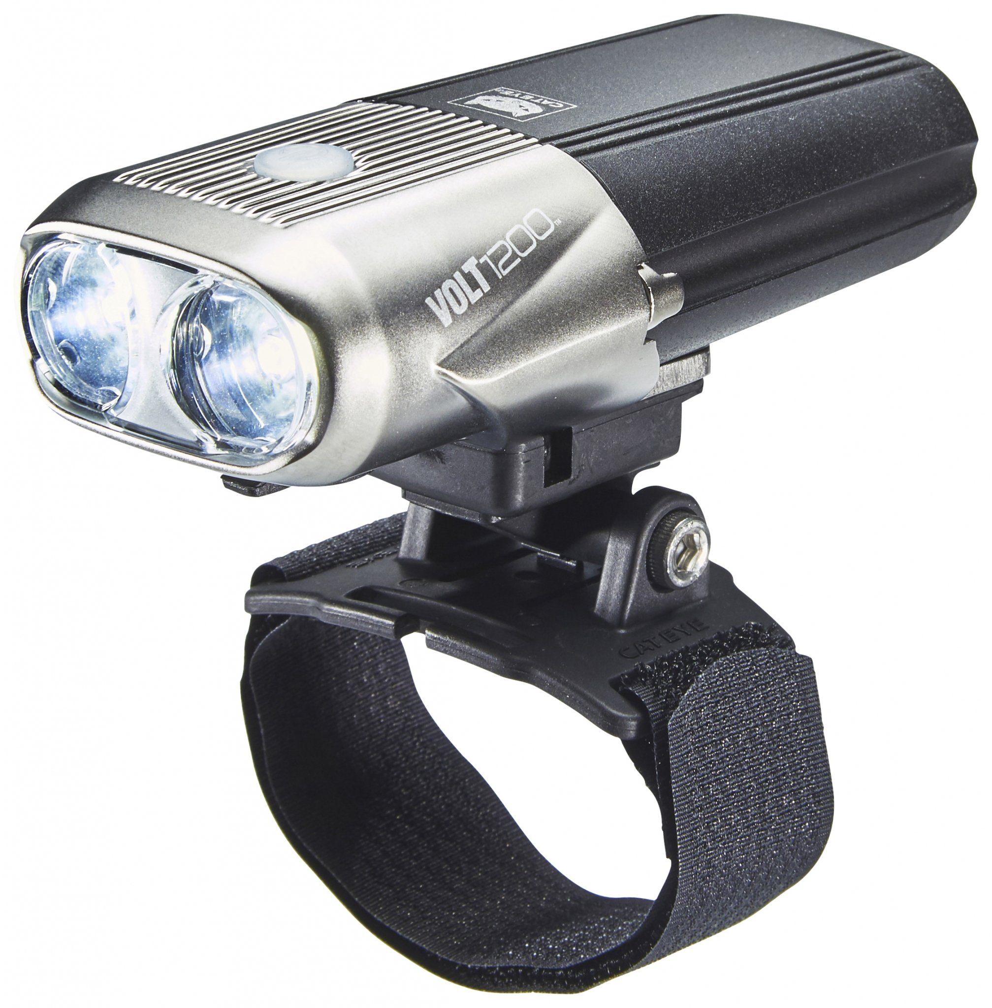Cateye Fahrradbeleuchtung »Volt1200 HL-EL1000 RC Helmlampe«