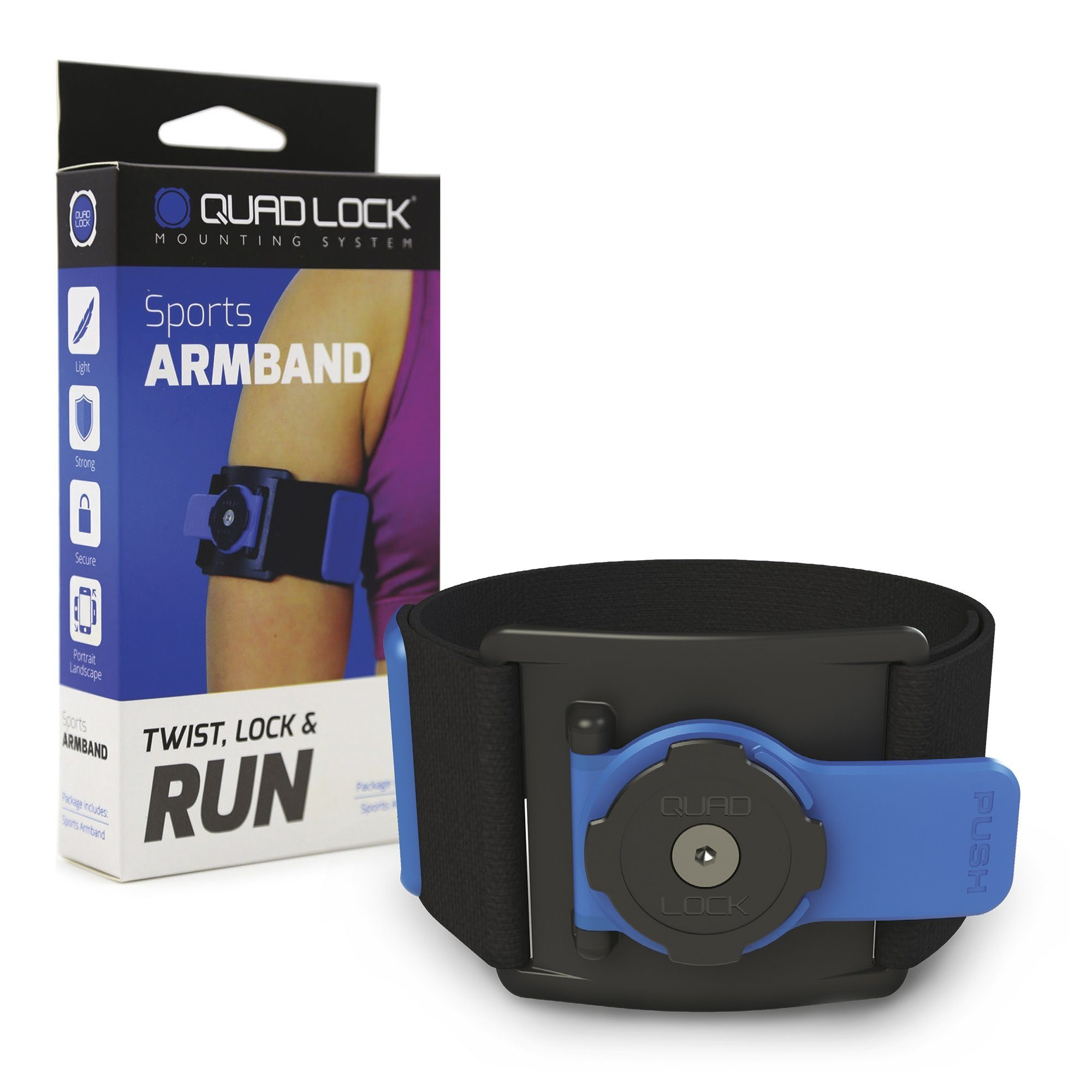 Quad Lock Fitnesstracker »Sports Armband«
