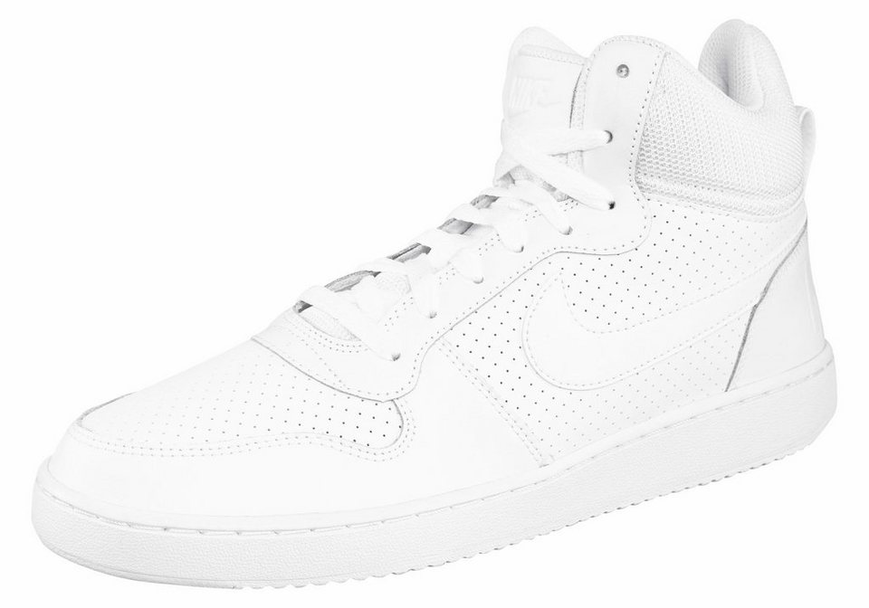 Nike »Court Borough Mid« Sneaker in weiß