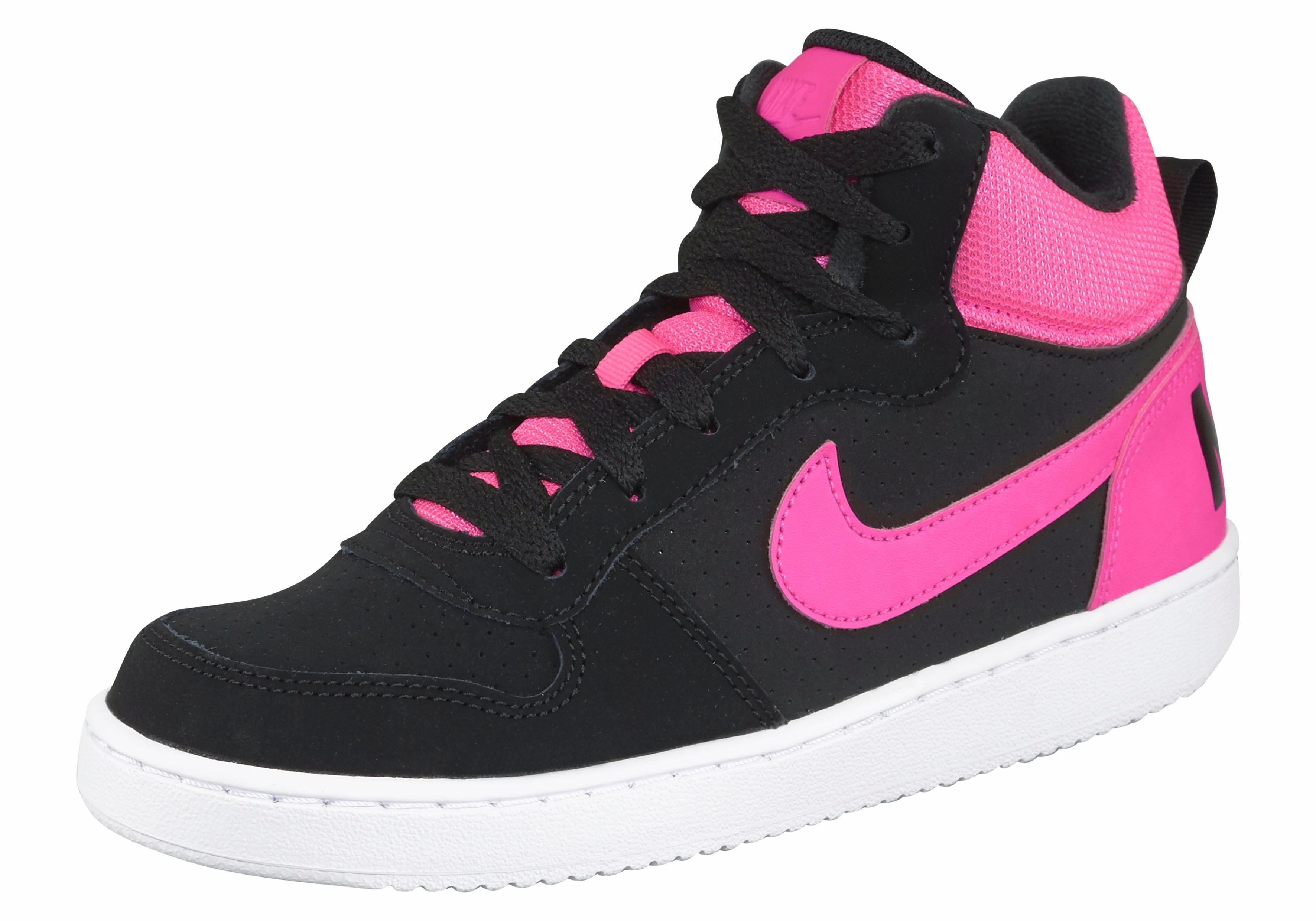 Nike Recreation Mid Sneaker online kaufen  schwarz-pink