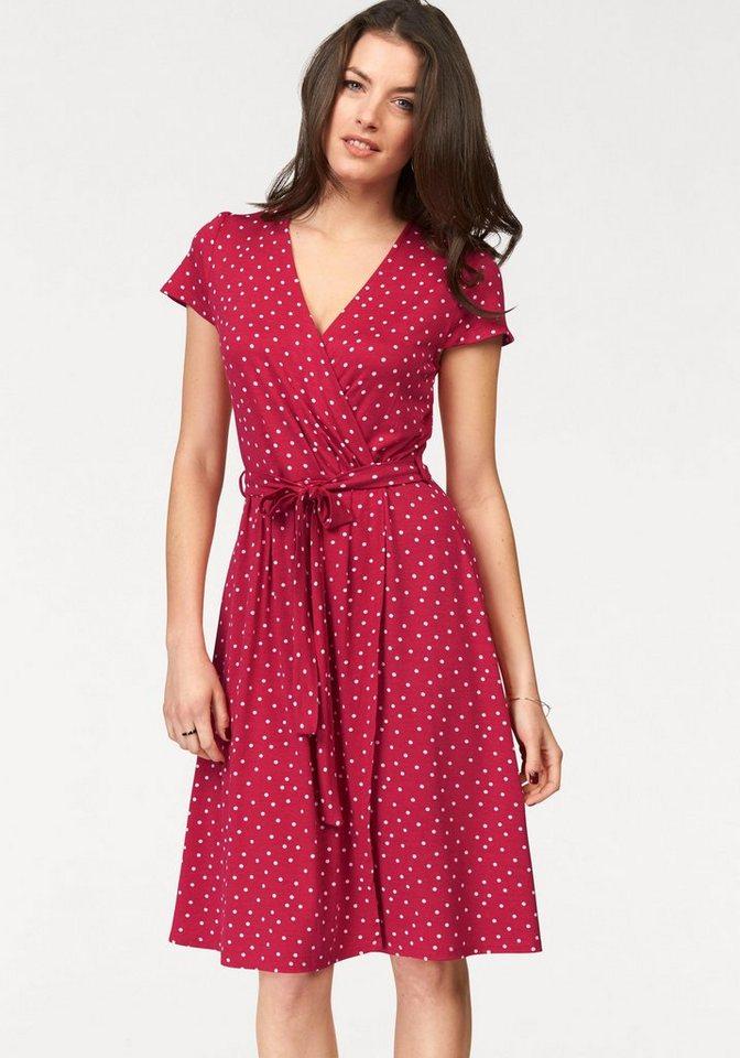 Vivance Jerseykleid mit Bindegürtel online kaufen | OTTO