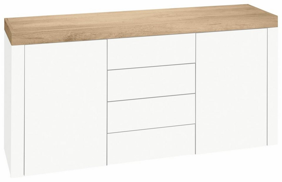 sideboard panama breite 139 cm online kaufen otto. Black Bedroom Furniture Sets. Home Design Ideas