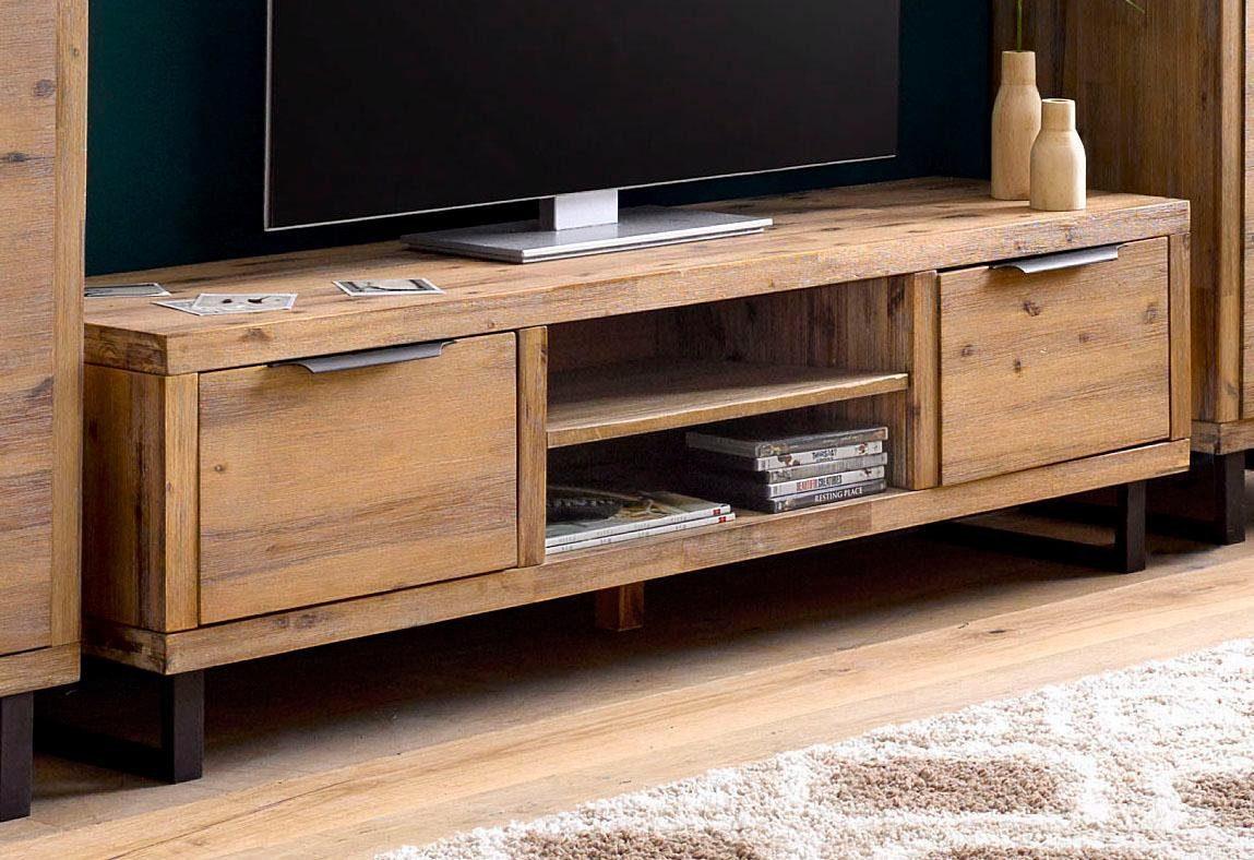 Home affaire Lowboard »Viby«, aus massiven Akazienholz, Breite 160 cm