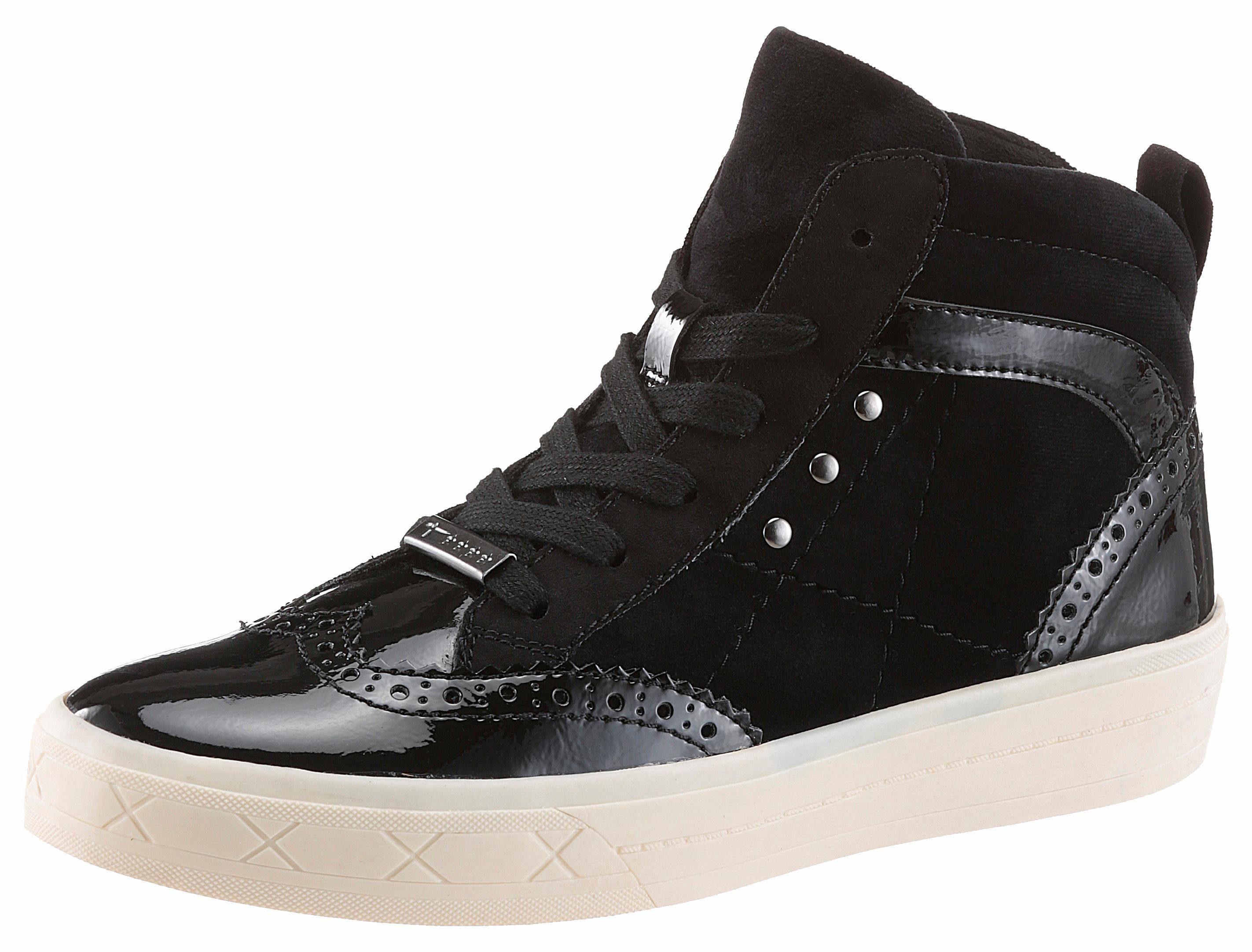 Tamaris Sneaker, mit herrlich weichem Touch-It-Fußbett, schwarz, 6,5 40