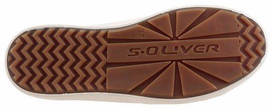 s.Oliver RED LABEL Sneaker, mit s.Oliver Schriftzug