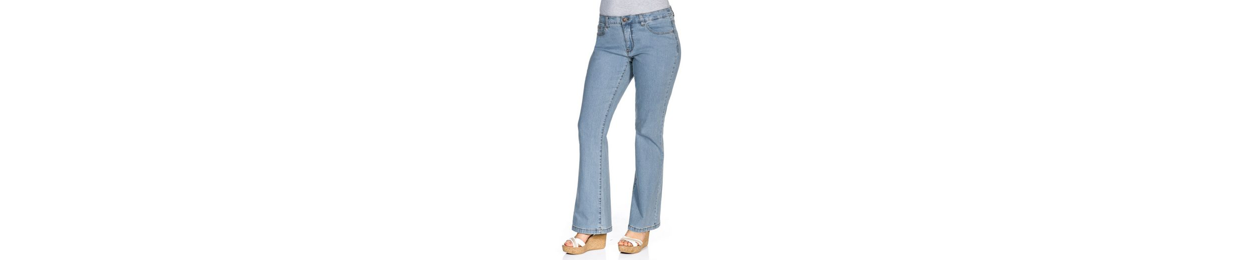 sheego Denim Stretch-Jeans Schnell Express Nagelneu Unisex 5bouC2