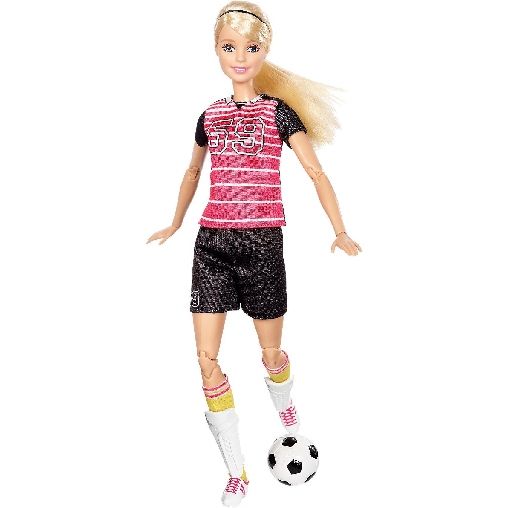 Mattel Barbie Made to Move Fußballspielerin