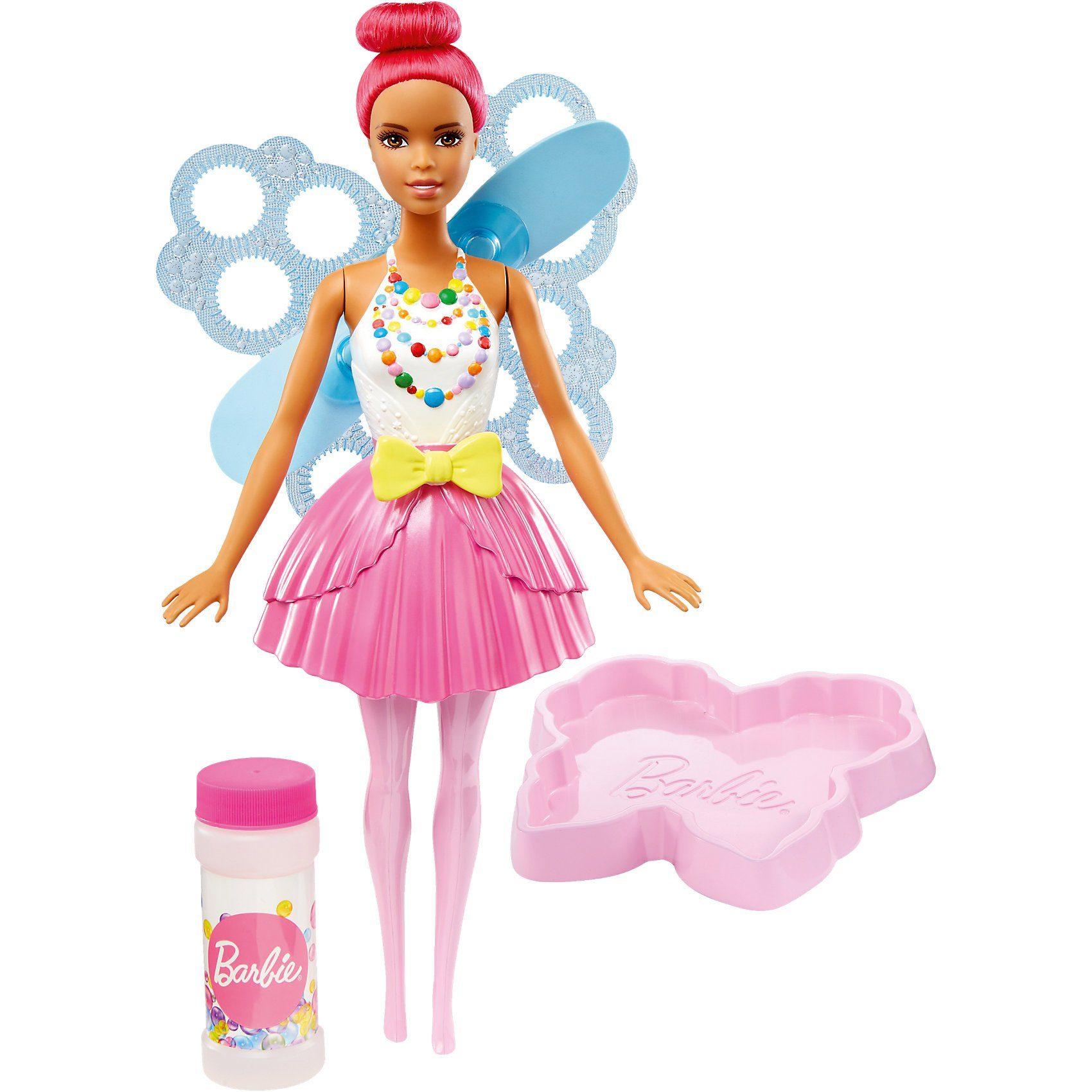 Mattel® Barbie Dreamtopia Seifenblasen Fee Puppe (pinkfarbenes Haar)