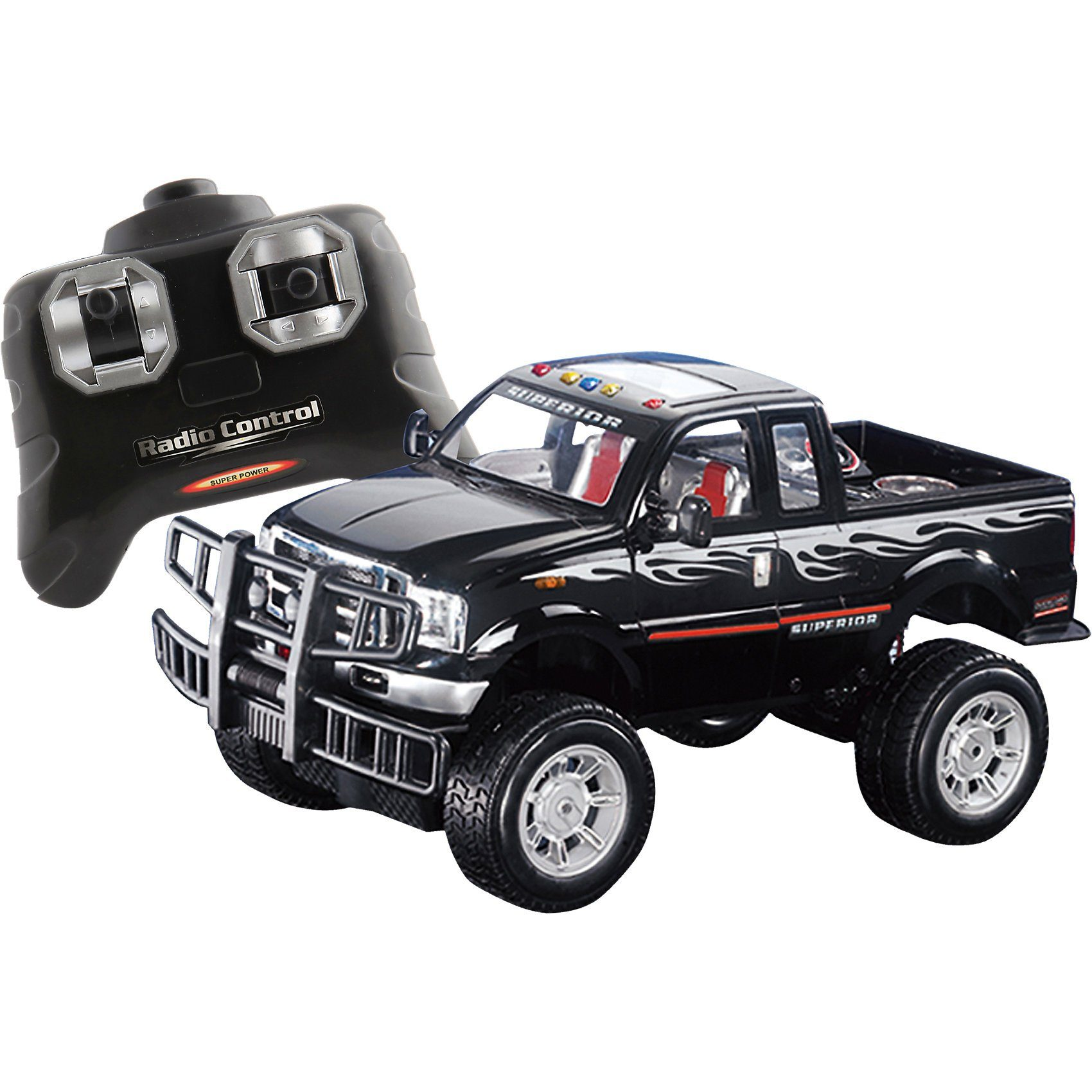 The Toy Company RC Racer Off Road Jeep, 27 MHz