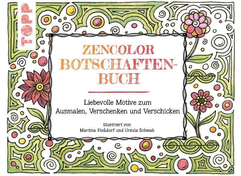 Topp Das Zencolor Postkartenbuch