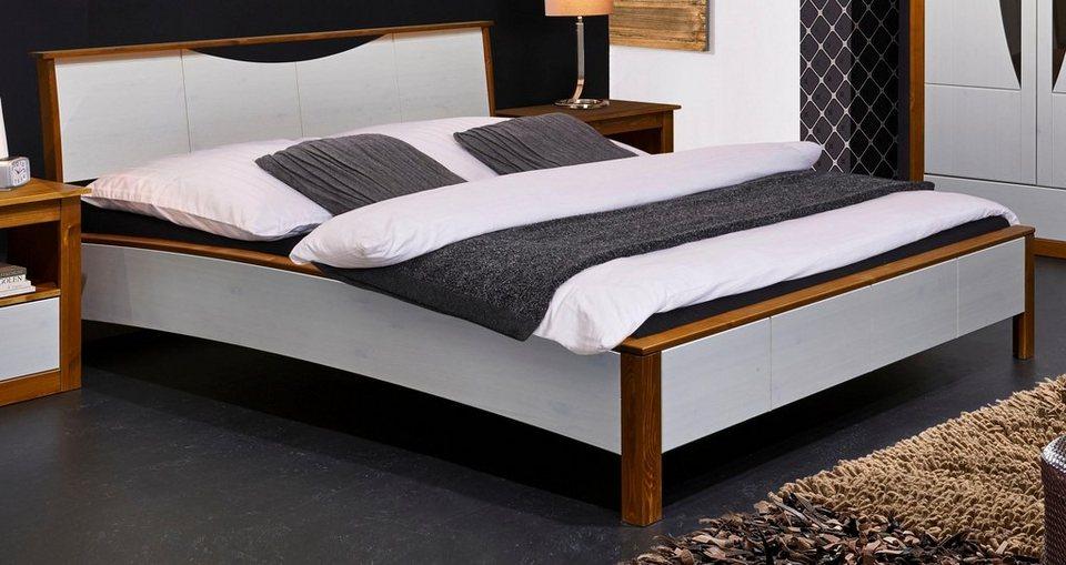 home affaire bett arosa mit 140er oder 180er. Black Bedroom Furniture Sets. Home Design Ideas
