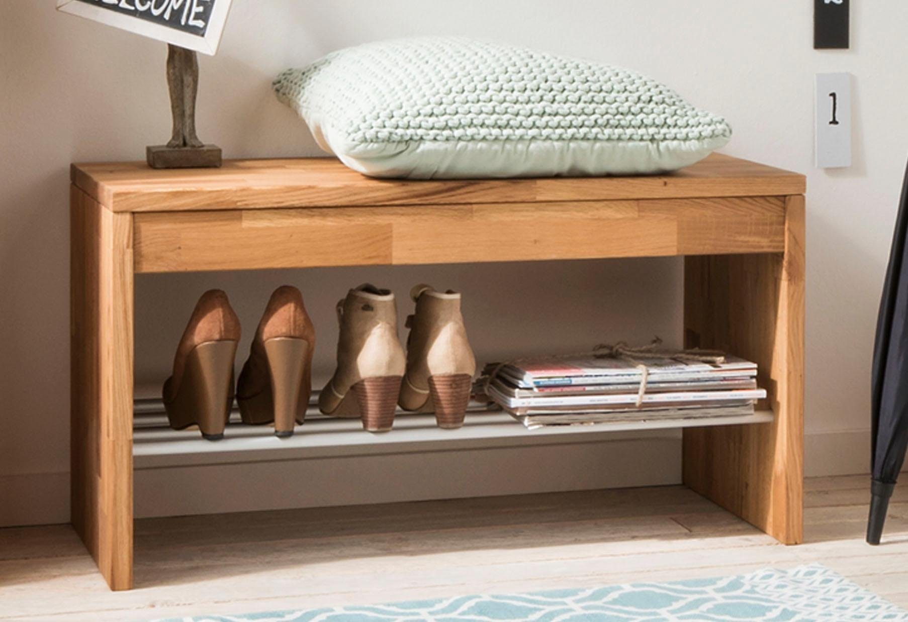 Home affaire Bank »Dura« mit praktischer Schuhablage, Breite 82 cm