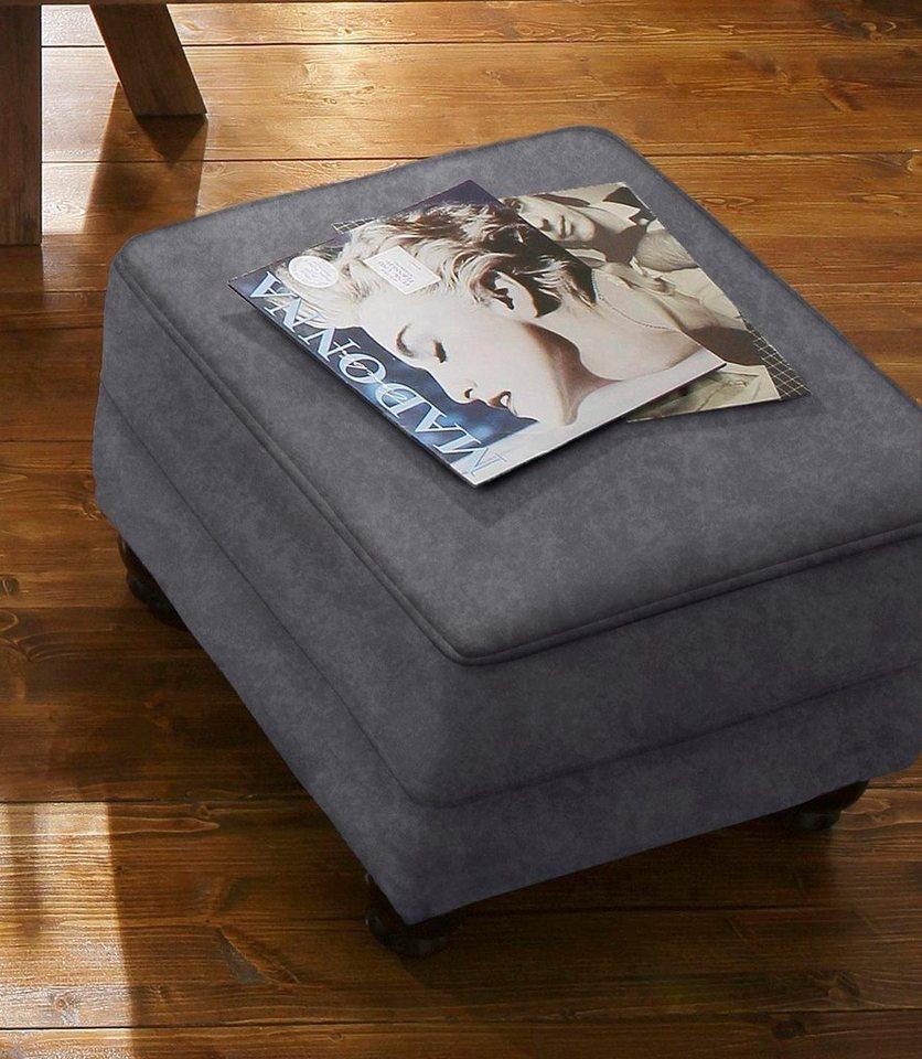 home affaire hocker king henry mit federkern otto. Black Bedroom Furniture Sets. Home Design Ideas