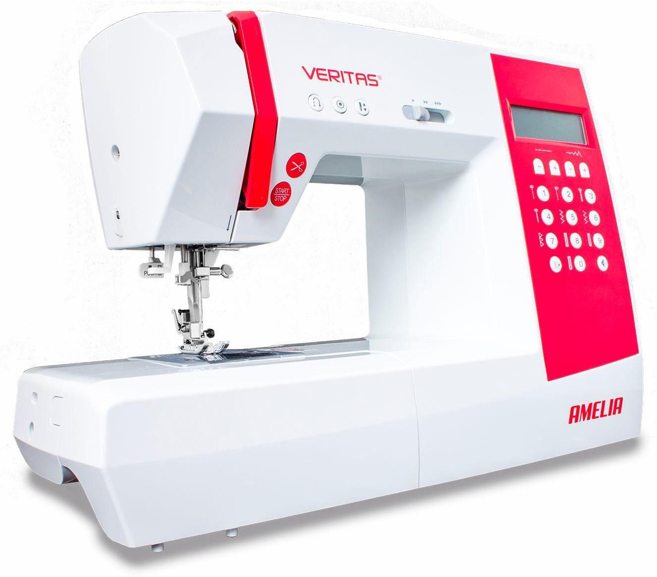 Veritas Computer-Nähmaschine Amelia, 90 Programme, 90 Programme, mit Zubehör