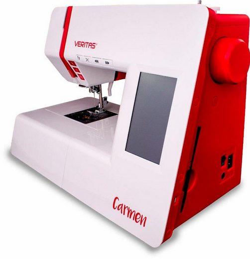 Veritas Computer-Nähmaschine Carmen, 272 Programme, 272 Programme, mit Zubehör und USB-Anschluss
