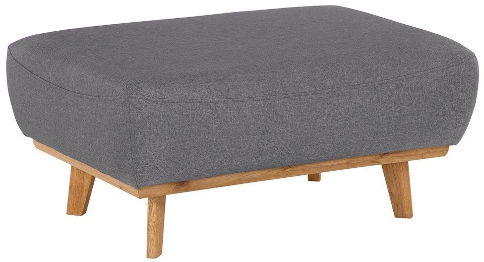 home affaire hocker gabrielle mit holzrahmen im eleganten skandinavischen design online. Black Bedroom Furniture Sets. Home Design Ideas