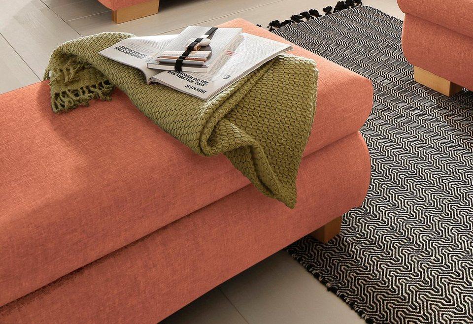 home affaire nika hocker struktur fein oder melrose struktur online kaufen otto. Black Bedroom Furniture Sets. Home Design Ideas