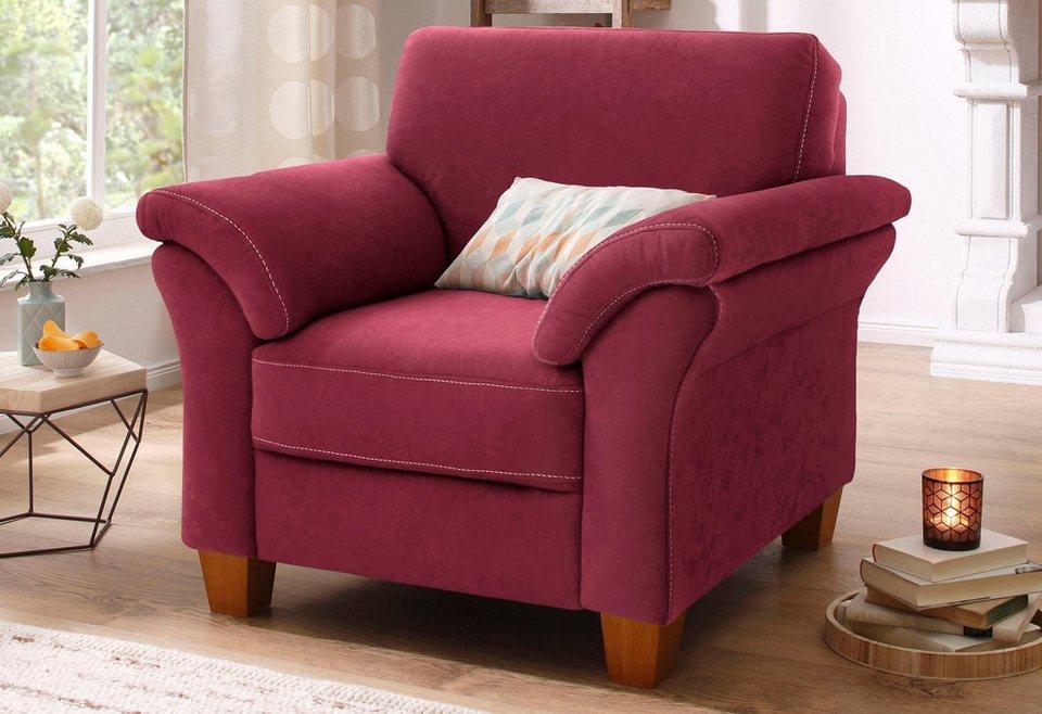 home affaire sessel borkum mit federkern kaufen otto. Black Bedroom Furniture Sets. Home Design Ideas