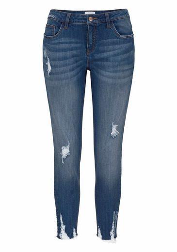 Aniston Skinny-fit-Jeans, mit Destroyed-Effekt