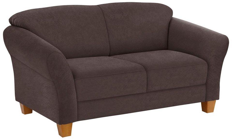 home affaire 2 sitzer gotland in drei bezugsqualit ten online kaufen otto. Black Bedroom Furniture Sets. Home Design Ideas