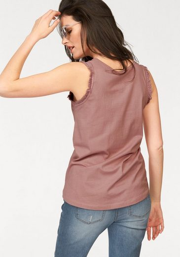 Aniston Tanktop, in leicher A-Linie