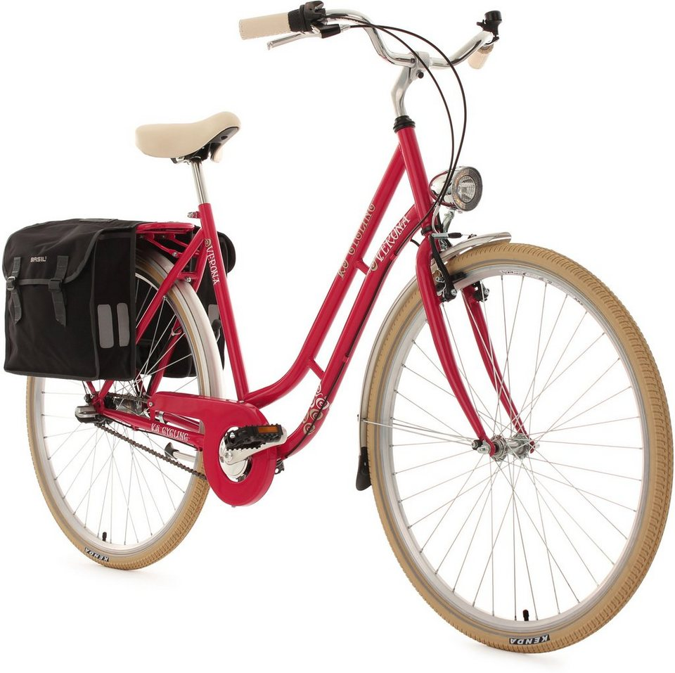 ks cycling damen cityrad 28 zoll 3 gang shimano nexus. Black Bedroom Furniture Sets. Home Design Ideas