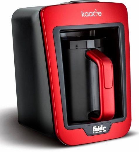 FAKIR Mokkamaschine Kaave 9174003, 0,28l Kaffeekanne, beleuchteter Kochraum