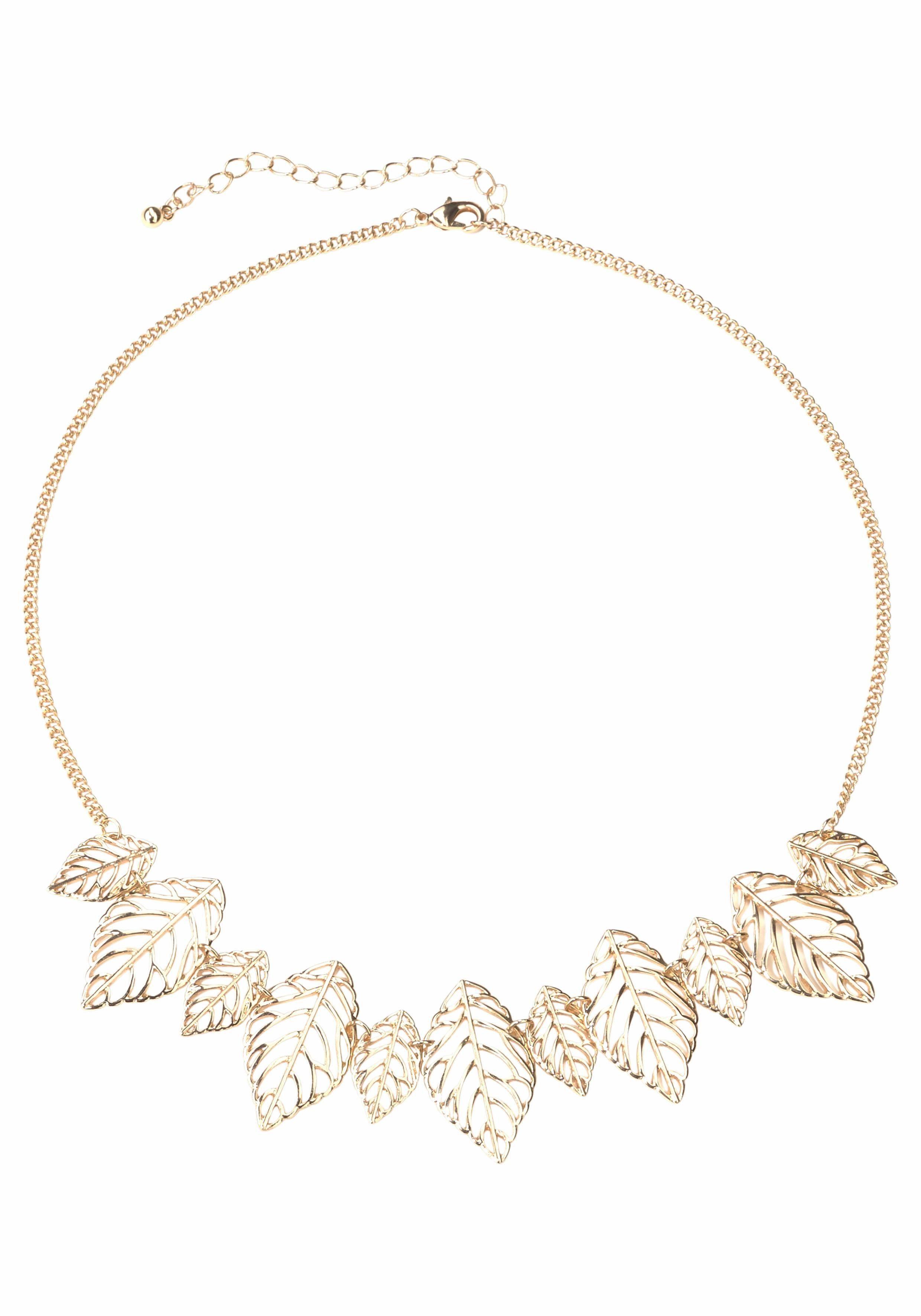 J. Jayz Gliederkette, mit Blättern